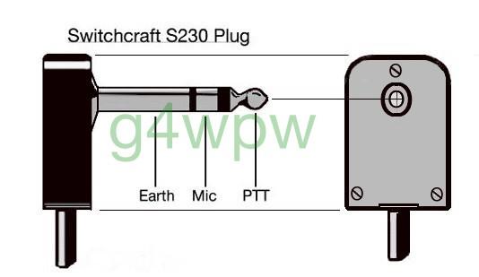 ( s230 mic plug )