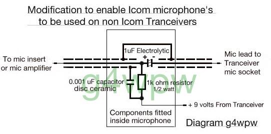 date D Microphone Wiring Diagram To Yeasu Ee on